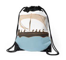 Ancient Greek Vessel Drawstring Bag