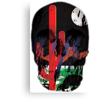 Deserted - Skull Collection Canvas Print
