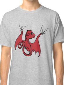 Red Dragon Rider Classic T-Shirt