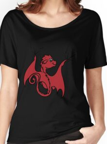 Red Dragon Rider Women's Relaxed Fit T-Shirt
