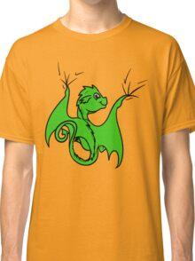 Green Dragon Rider Classic T-Shirt
