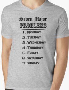 Seven Major Problems Mens V-Neck T-Shirt
