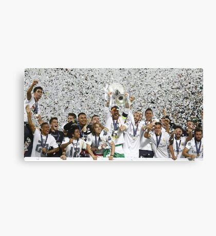 Real Madrid Canvas Print