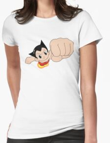 Astroboy Toby Movie Cartoon Womens Fitted T-Shirt