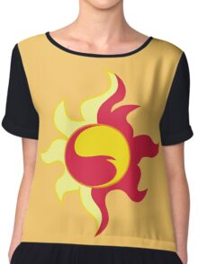 My little Pony - Sunset Shimmer Cutie Mark Chiffon Top