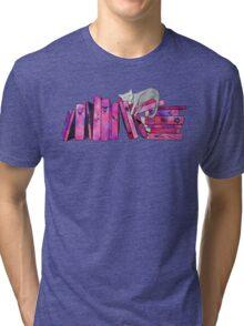 FanGirl Bookshelf Tri-blend T-Shirt