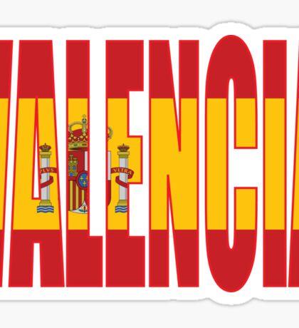 Valencia. Sticker