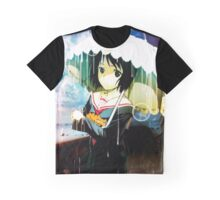NHK ni Youkoso! (Welcome to the N.H.K.) - Nakahara Misaki Graphic T-Shirt