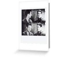 why doesn't he look at me? Greeting Card