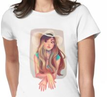 Cowgirl! Womens Fitted T-Shirt