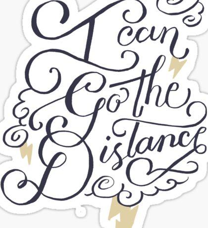 Go The Distance Sticker