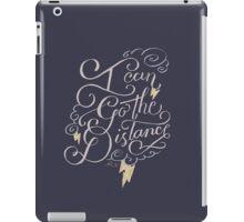 Go The Distance iPad Case/Skin