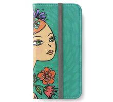 Flora iPhone Wallet/Case/Skin