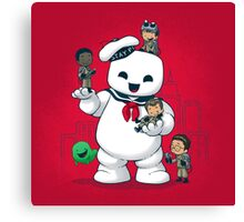 Puft Buddies Canvas Print