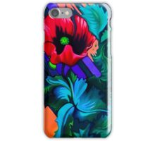 Poppie Fence iPhone Case/Skin