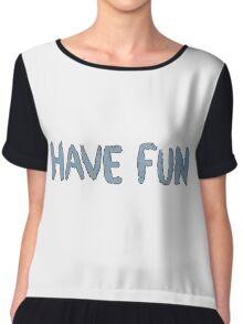 Have Fun Chiffon Top