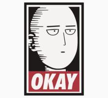 OKAY Saitama One Piece - Short Sleeve