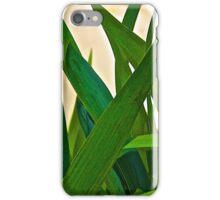 Graceful Leaves iPhone Case/Skin
