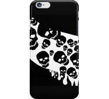 Gothic White Skulls iPhone Case/Skin