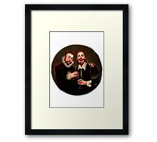 Will and Miguelito Framed Print