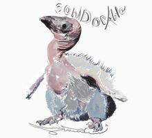 California Condor, Gymnogyps californianus One Piece - Short Sleeve