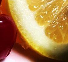 Bittersweet Fruit Sticker
