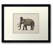 Elephant Day  Framed Print