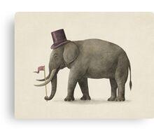 Elephant Day  Canvas Print