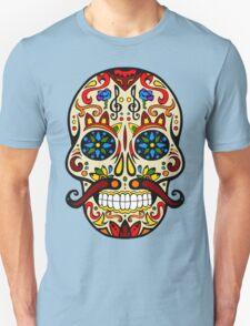 Mustache Skull Unisex T-Shirt