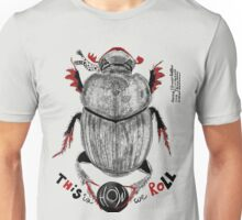 Super Scarab: Dung Beetle Unisex T-Shirt
