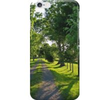 Road to the Farm iPhone Case/Skin