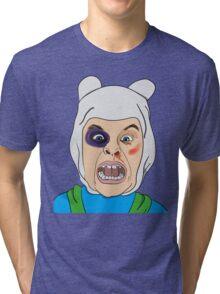 Finn The Human Original Illustration Tri-blend T-Shirt