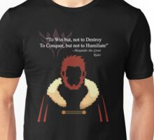 Iskandar Quotes White Print Unisex T-Shirt
