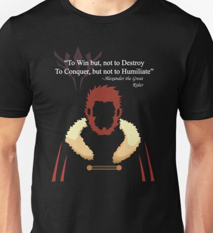 Iskandar Quotes White Print Unisex T-Shirt
