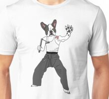 Kungfu Bulldog Lee Unisex T-Shirt