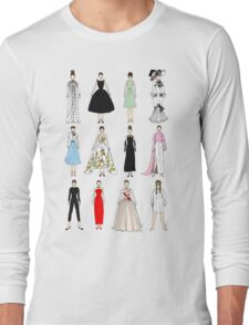 Outfits of Audrey Fashion Long Sleeve T-Shirt
