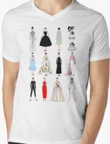 Outfits of Audrey Fashion Mens V-Neck T-Shirt