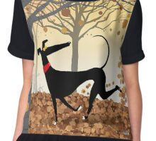 Autumn Hound Chiffon Top