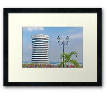 Guayaquil Cityscape from Cerro Santa Ana Framed Print