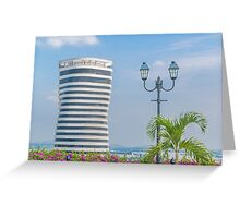 Guayaquil Cityscape from Cerro Santa Ana Greeting Card