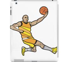 Basketball Player Illustration iPad Case/Skin