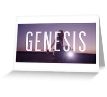 Genesis by Grimes Greeting Card