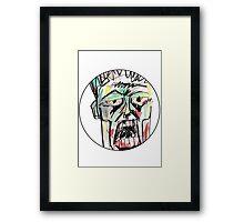 Dead Head Framed Print