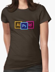 Adobe Workshop Womens Fitted T-Shirt