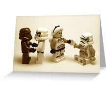 Lego Star Wars Stormtroopers Diversity Minifigure Greeting Card