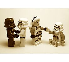 Lego Star Wars Stormtroopers Diversity Minifigure Photographic Print