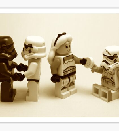 Lego Star Wars Stormtroopers Diversity Minifigure Sticker