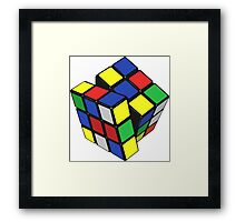 The Rubix Framed Print