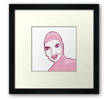 Filthy Frank CARTOON Framed Print