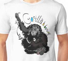 Mountain Gorilla, Gorilla beringei beringei Unisex T-Shirt